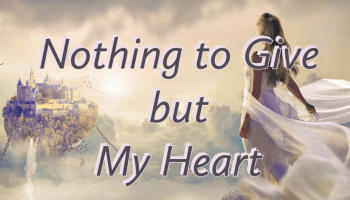 Nothing to Give But My Heart Novel Cover Image