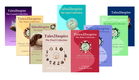 #Tales2Inspire books filled with contest winning stories