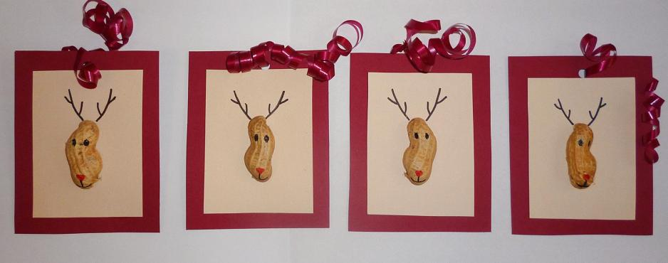 DIY - Rudolph, the Red-Nosed Reindeer, www.talesandmemories.de