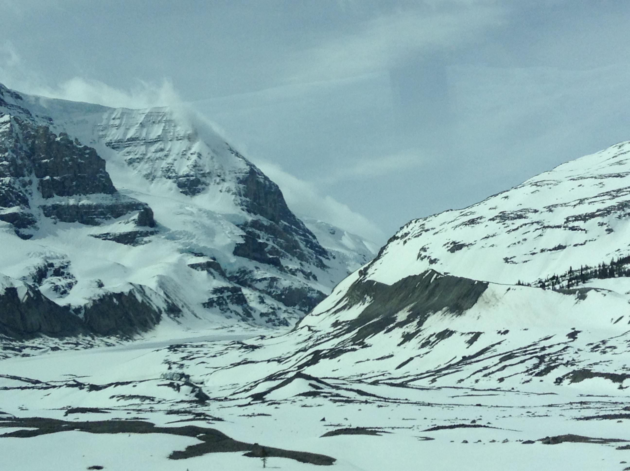 Athabasca Glacier Columbia Icefield Canada