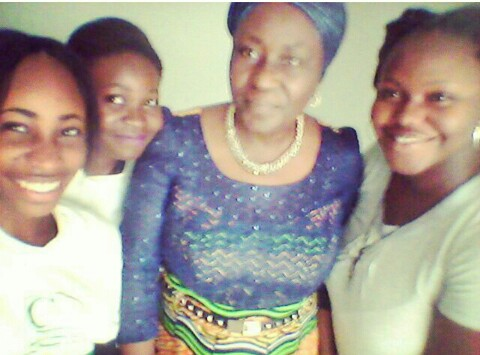With Remi Sonaiya. Lovely lovely woman. Assumpta. Ife.