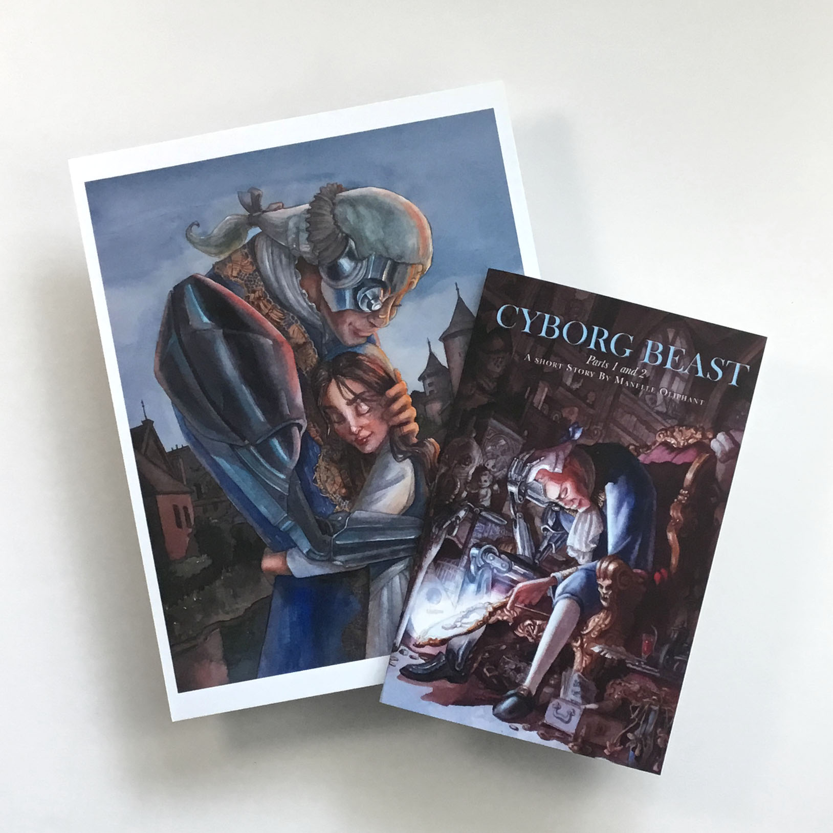 Cyborg Beast Part 2 Print and MiniBook