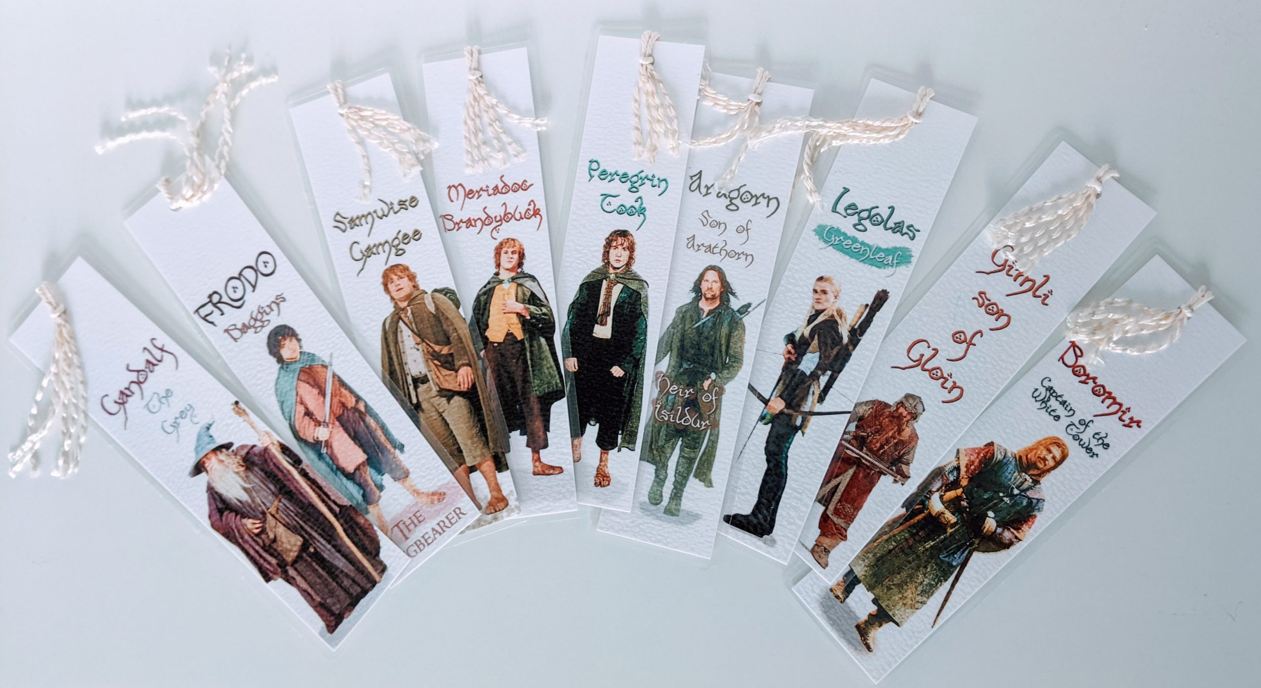 Best Gifts for Book Lovers Lord of the Rings Bookmarks