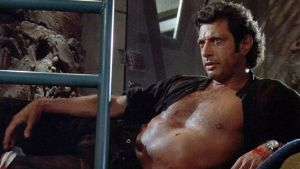 Ian Malcolm in Jurassic Park