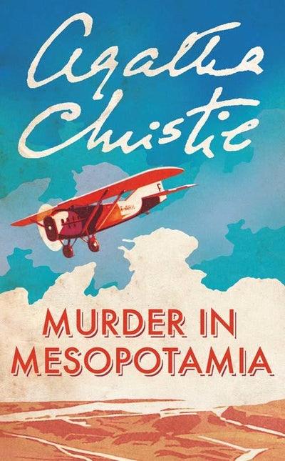 Murder in Mesopotamia Agatha Christie book cover
