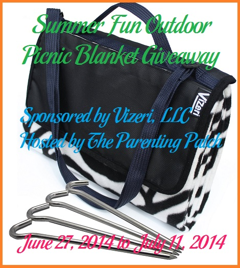 2014-06-27 Summer Fun Outdoor Picnic Blanket Giveaway