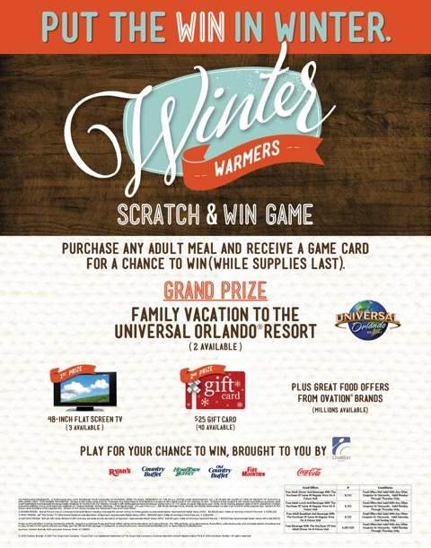 Winter Warmers Scratch & Win 1-5-15