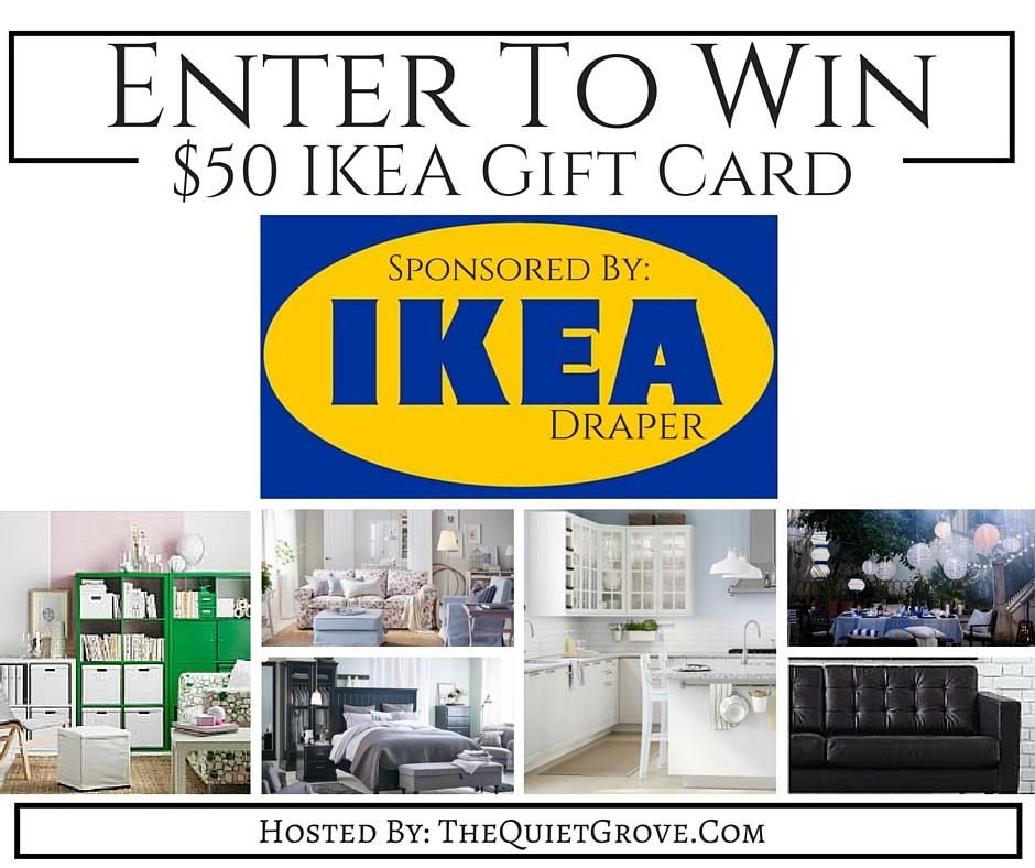 $50 IKEA Gift Card