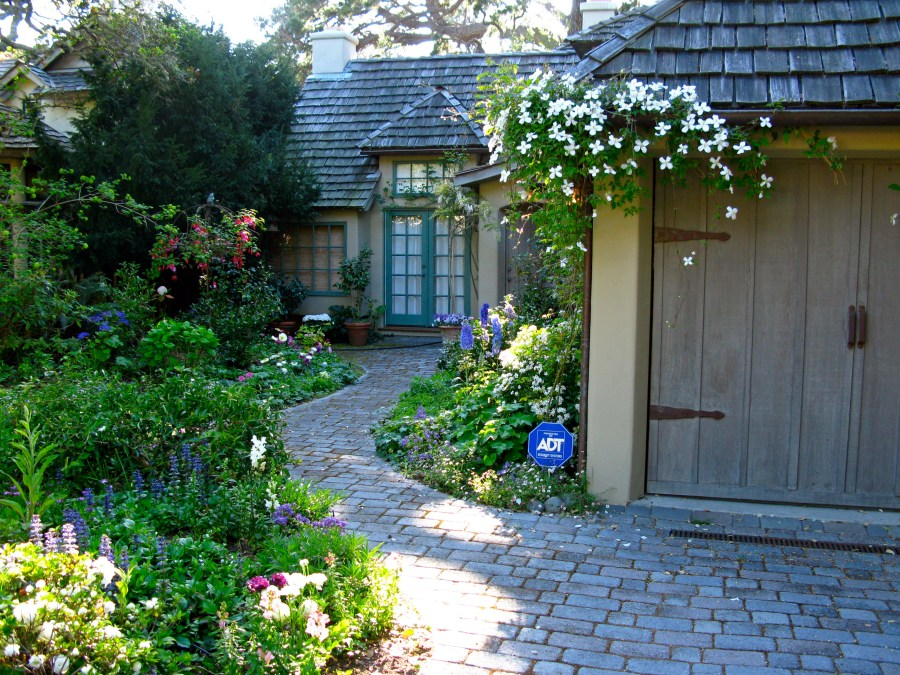 THE COTTAGE GARDEN AT 5 CASANOVA ST  Once upon a timeTales from Carmel by the Sea