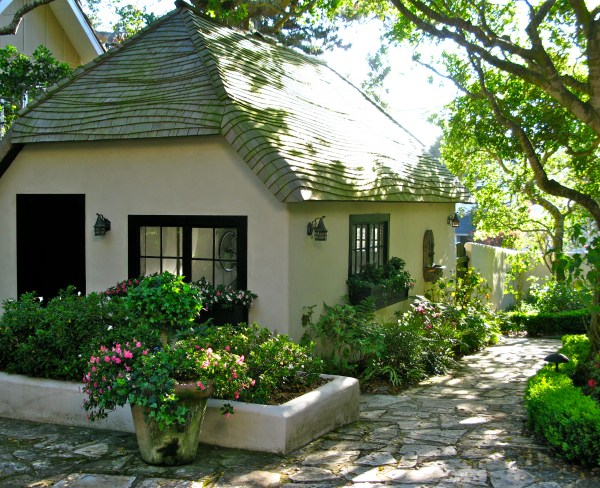 EVEN THE GARAGES IN CARMEL ARE CHARMING! | Once upon a ...