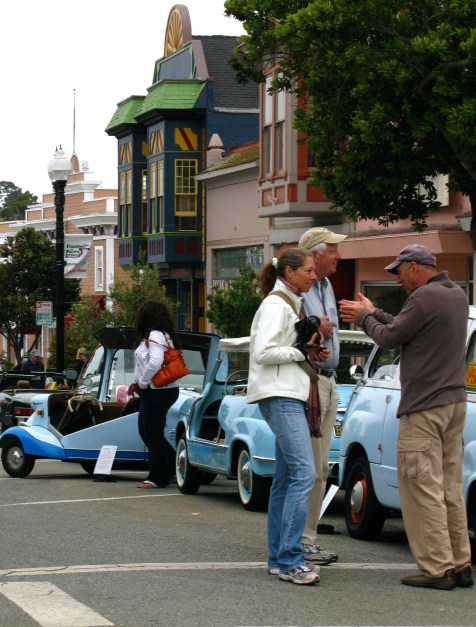 """In Pacific Grove- they celebrate the """"Little Car"""""""