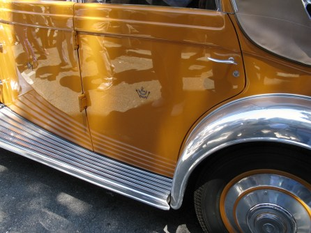 Maharaja of Rajkot's 1934 Rolls Royce t