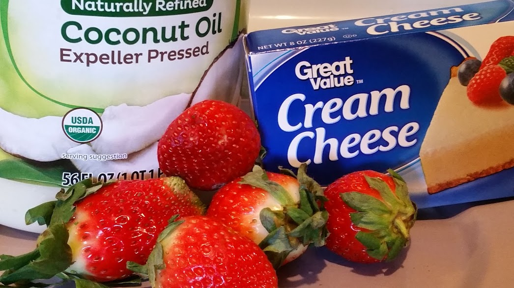 Strawberry heart fatbomb ingredients