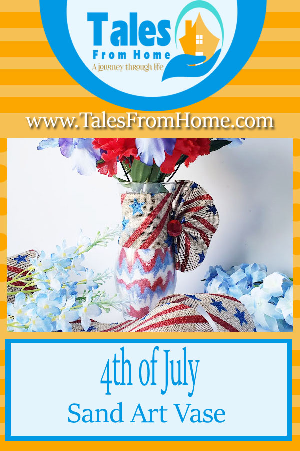 4th of July Sand Art #art #dollarstore #dollartree #sandart #crafting