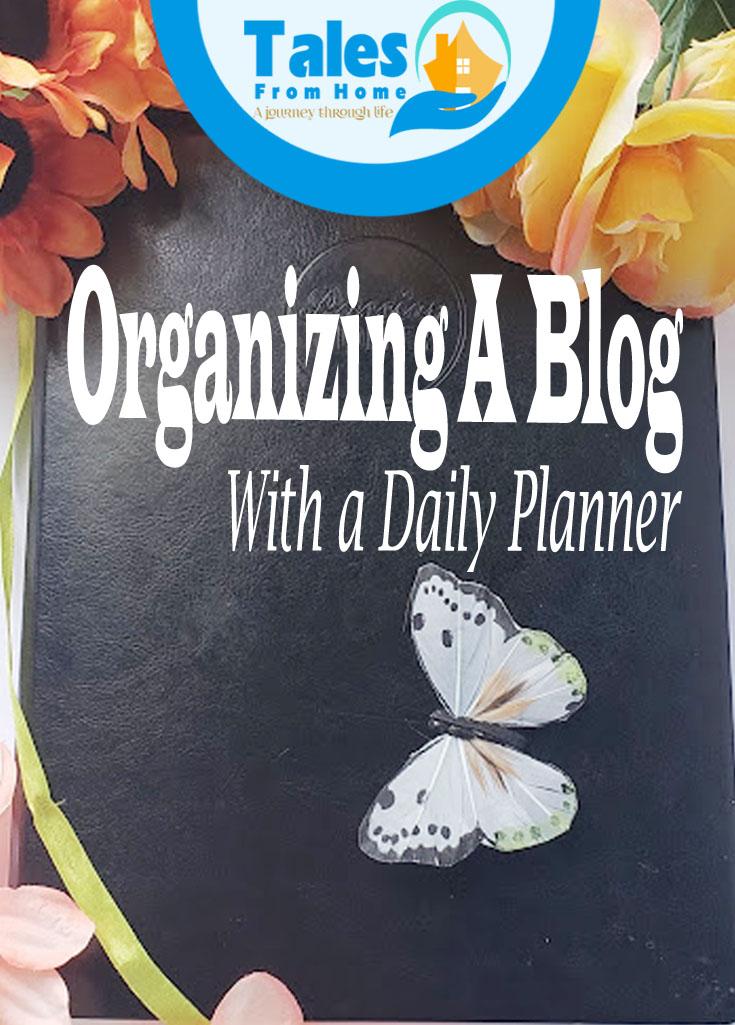 organizing a blog using a daily planner #journal #planning #planner #planahead #organize #organization #blog #bloggingtips