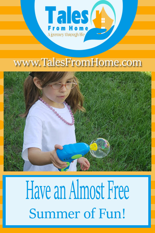 Have an almost free summer of fun with these great ideas! #summer #family #activities #fun #funonabudget