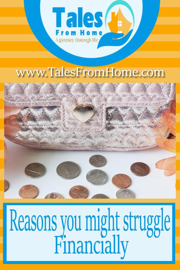 Do you struggle with your finances? Here might be why! #finances #money #savingmoney #makingmoney #debt