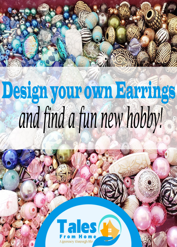 Design your own earrings! Discover a fun new hobby! #arts #crafts #jewelry #jewelrymaking #earringmaking #cliponearrings