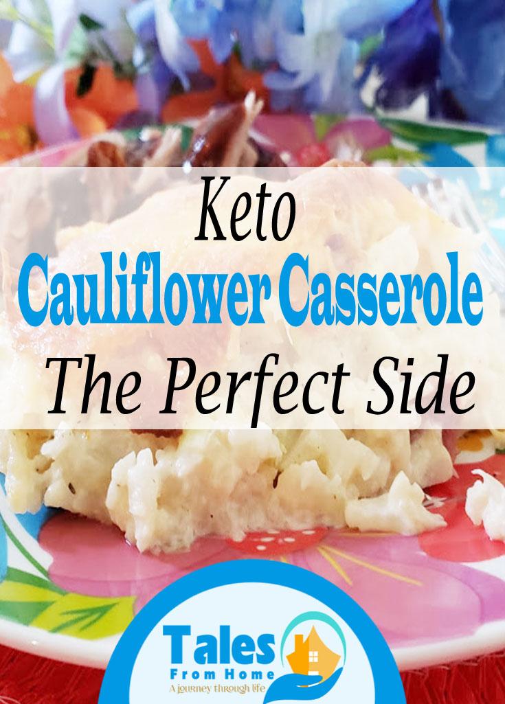 Keto Cauliflower Casserole #Keto #Cauliflower #ketorecipe #recipe #sidedish #Ketosides