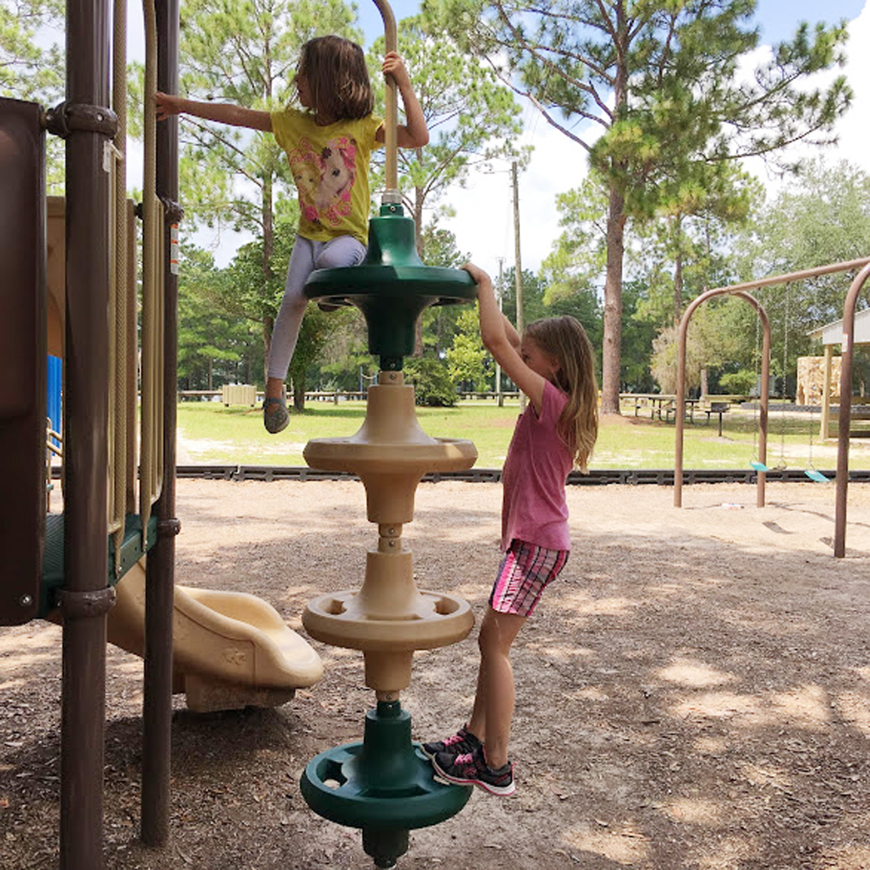 getting your kids outside playground equipment