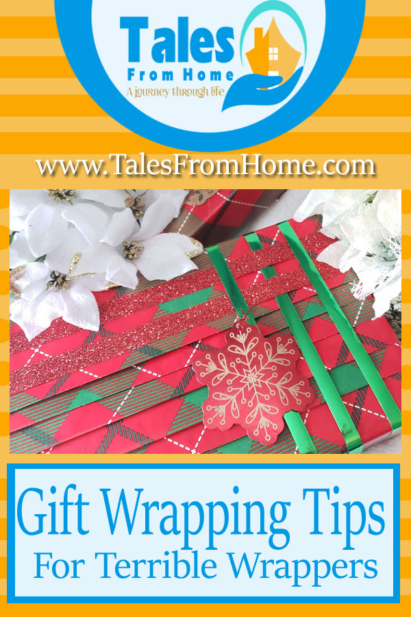 Gift wrapping Tips for Terrible wrappers #Giftwrapping #wrappingtips #christmas #christmaswrapping #presents #wrappingpresents