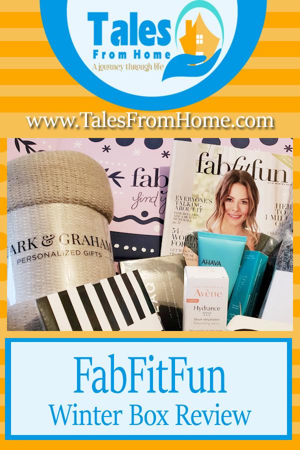 FabFitFun winter Box Review #fabfitfun #fabfitfunpartner #subscriptionbox #productreview