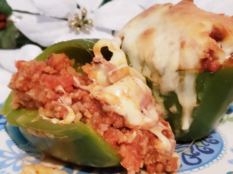 Keto Stuffed Bell Peppers