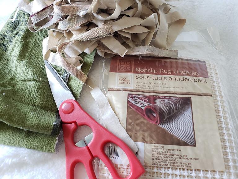 DIY Rag Rug Supplies