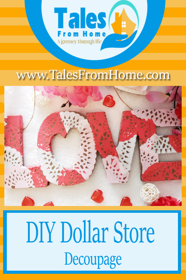 Dollar Store Decoupage, a fun project for any age! #craft #art #Decoupage #DollarStore #DollarTree #DollarStoreProjects #creative