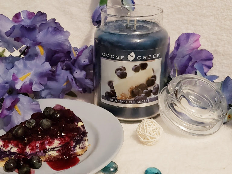 A scented Candle from Goose Creek Candles