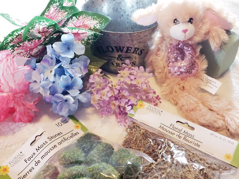 DIY Easter Centerpiece- Supplies