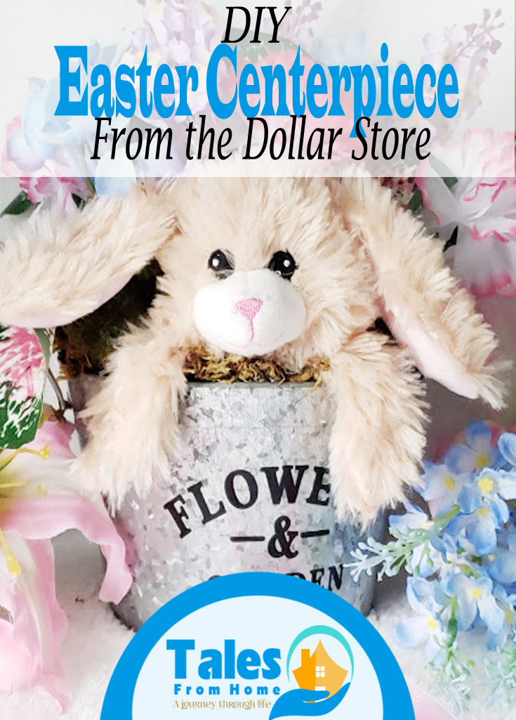 DIY Easter Centerpiece from the Dollar Store #Easter #crafts #Arts #easterdecor #Dollarstore #dollartree #homedecor #easterdecorations