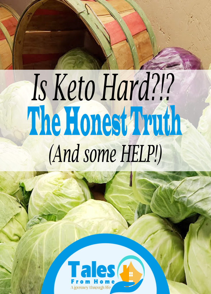 Is Keto Hard? Do you feel like you need some help? Here's the HONEST truth and some tips to HELP you out! #Keto #ketogenic #ketodiet #startingketo #ketolife #lchf #lowcarb #weightloss #weightlossourney
