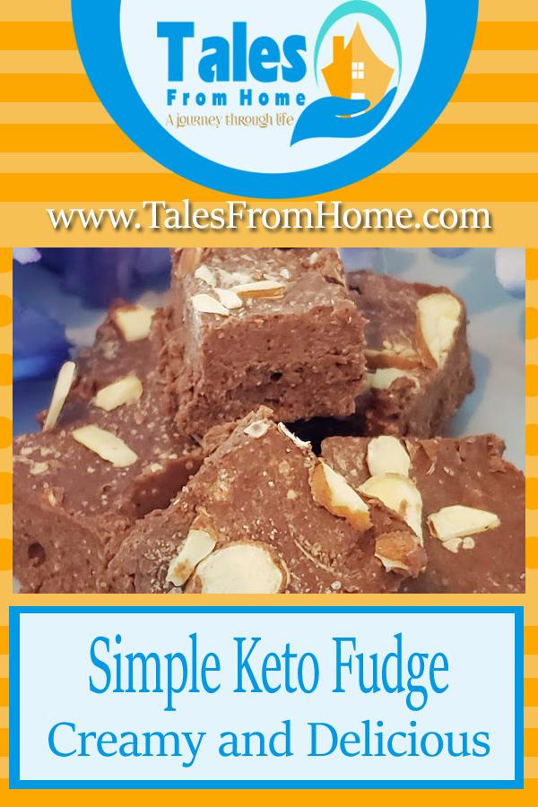 A Simple Keto Fudge Recipe. #recipe #keto #ketogenic #ketorecipe #lchf #lowcarb#fudge #ketofudge @ketodessert