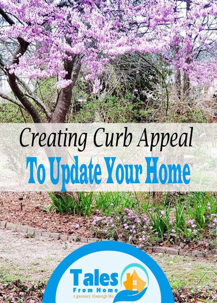 Creating Curb Appeal to update your home! #crubappeal #home #homeupdates #homedecor #family #house