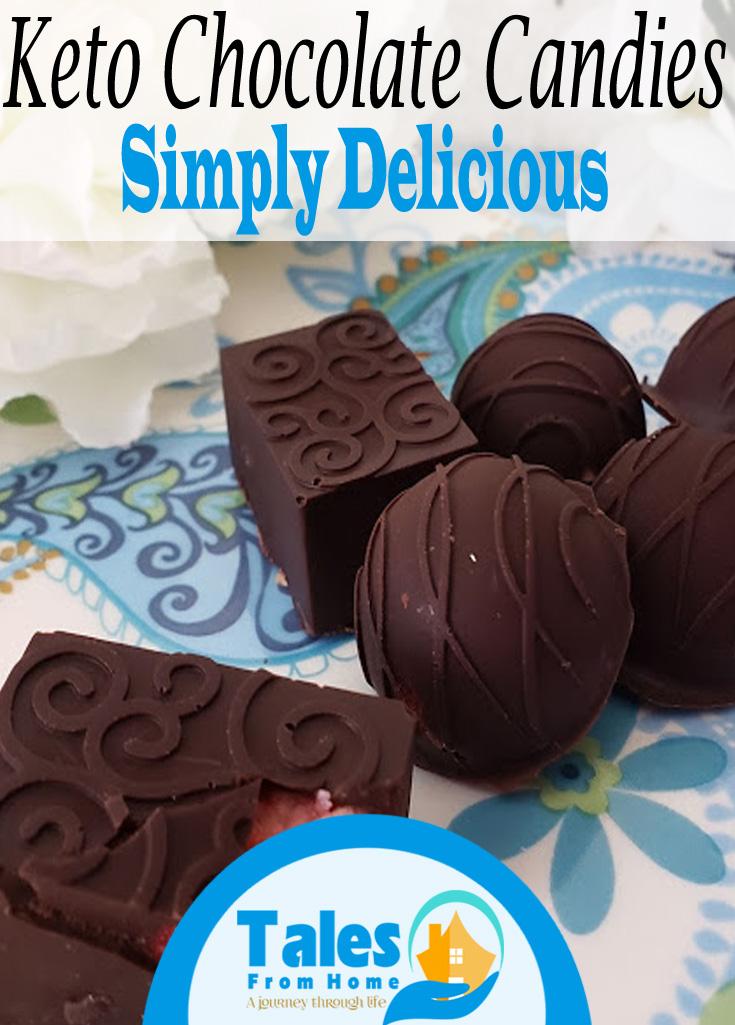 Keto Chocolate Candies! Simple and Delicious! #Keto #Ketogenic #Ketorecipes #Ketodesserts #ketodiet #ketotreat #LCHF #lowcard #candyrecipe #treats