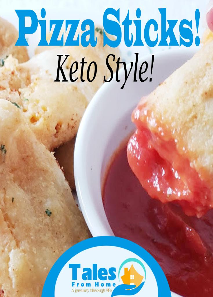 Keto Pizza Sticks! #keto #ketorecipes #recipes #pizzasticks #healthyeating #lchf #lowcarb #weightloss