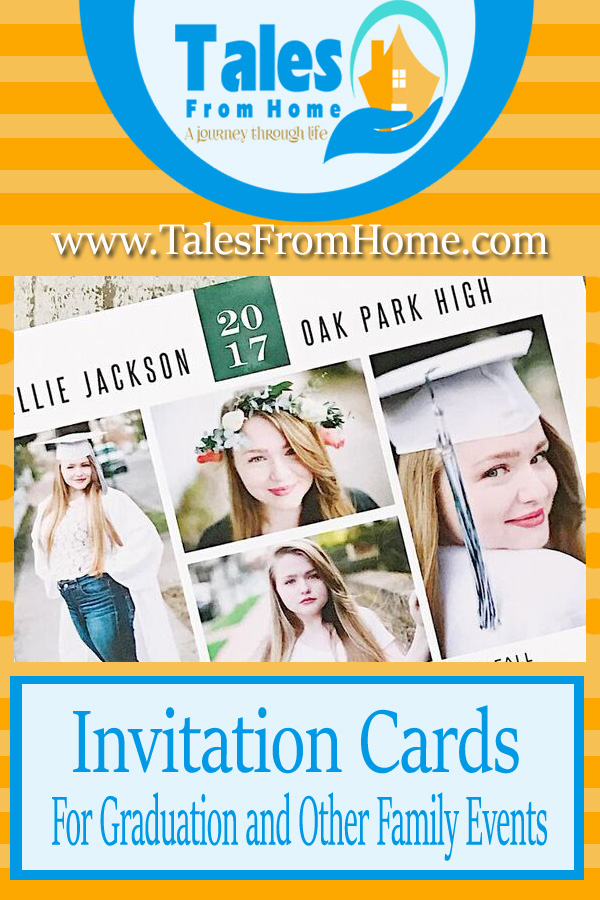 invitation cards for graduation and other family events. #family #celebration #cards #party #invitations
