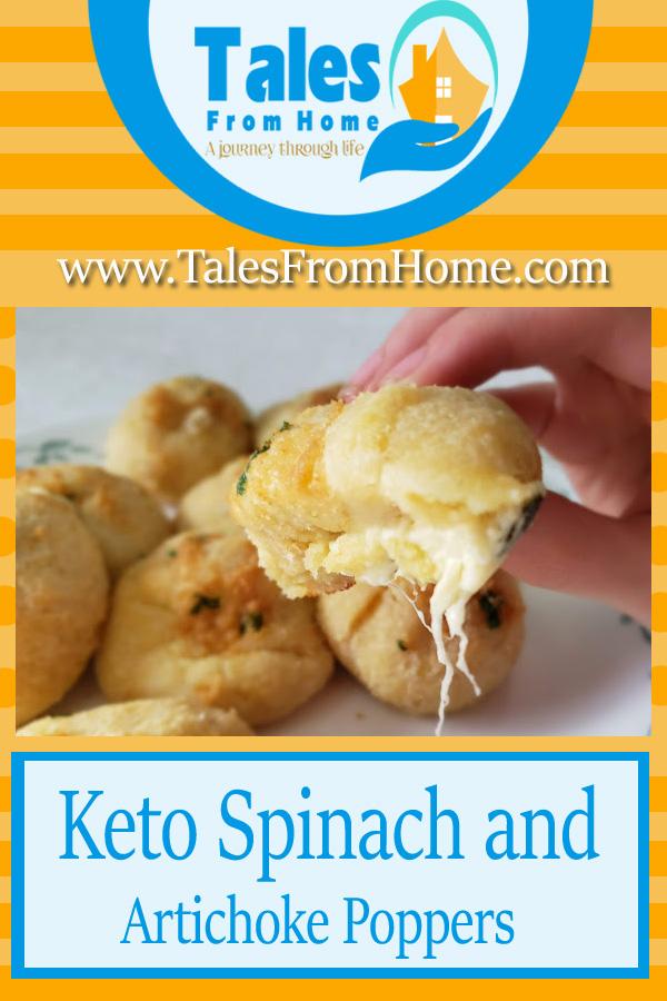 Keto spinach and artichoke poppers, delicious and full of flavor! #keto #ketogenic #ketosis #lchf #lowcarb #ketorecipes #ketorecipe