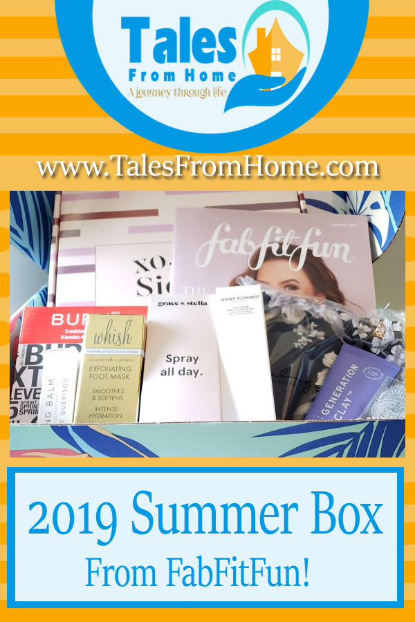 2019 Summer Box from FabFitFun. Check out the items and consider giving the box a try! #fabfitfun #fabfitfunpartner #subscriptonbox #subscriptions #women #womensproducts #beauty #lifestyle