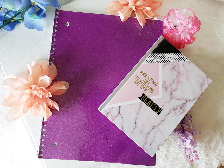 Creating a Dollar Store Bullet Journal using alternate notebooks