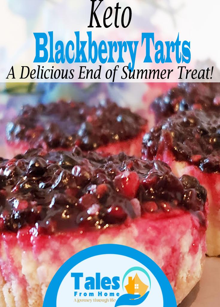 Keto Blackberry Tarts #Keto #ketorecipes #recipes #ketodesserts #ketotreats #treats #baking #lchf #lowcarb #healthyeating #healthydiet #loseweight #weightloss