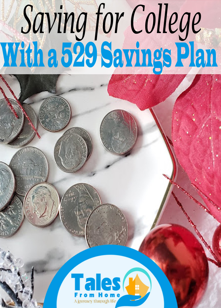 Saving for College with a 529 savings plan#saving #money #finances #college #kids #planning