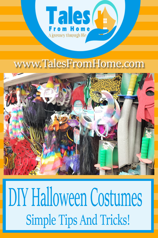 Simple tips and tricks for DIY Halloween Costumes! #diy #halloween #halloweencostumes #costumes #fall #family #kids