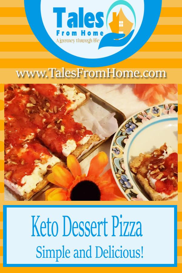 Keto Dessert Pizza #keto #ketogenic #ketosis #ketorecipe #dessertpizza #ketotreats