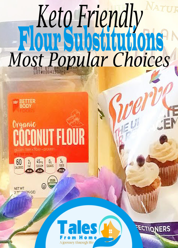 Keto Friendly Flour Substitutions. Have fun baking and stick to your healthy eating habits! #keto #ketogenic #ketosis #lchf #lowcarb