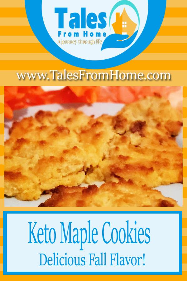 Keto Maple Cookies #keto #ketocookies #fall #fallrecipes #ketorecipes #ketogenic #cookies