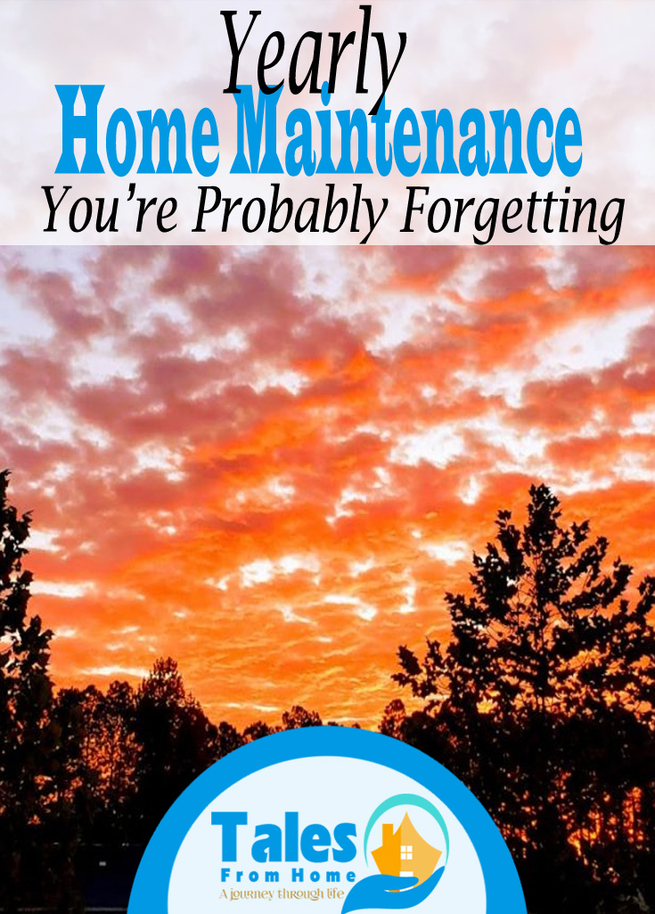 Yearly Home Maintenance Tasks You're Probably Forgetting about! #home #homeimpovement #homerepair #homemaintenance