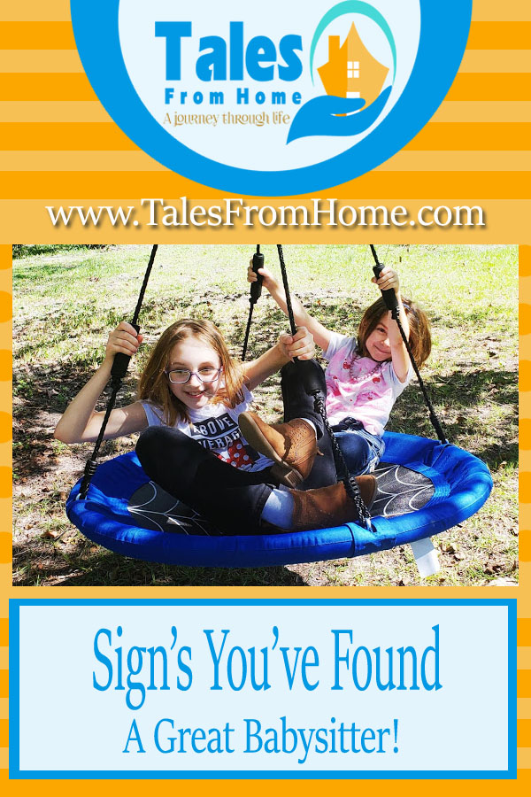 Signs that you've found a great Babysitter! #family #kids #parenting #familyfun #mom #sahm