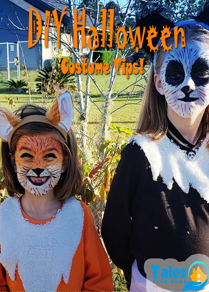 DIY Halloween Costumes that won't break the bank! Budget friendly but fantastic costume are waiting for you! #Halloween #Halloween2021 #DIYCostume #Costumeideas #costumetips #halloweencostumes #Kids #family